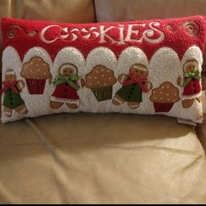 Gingerbread Cookie Pillow